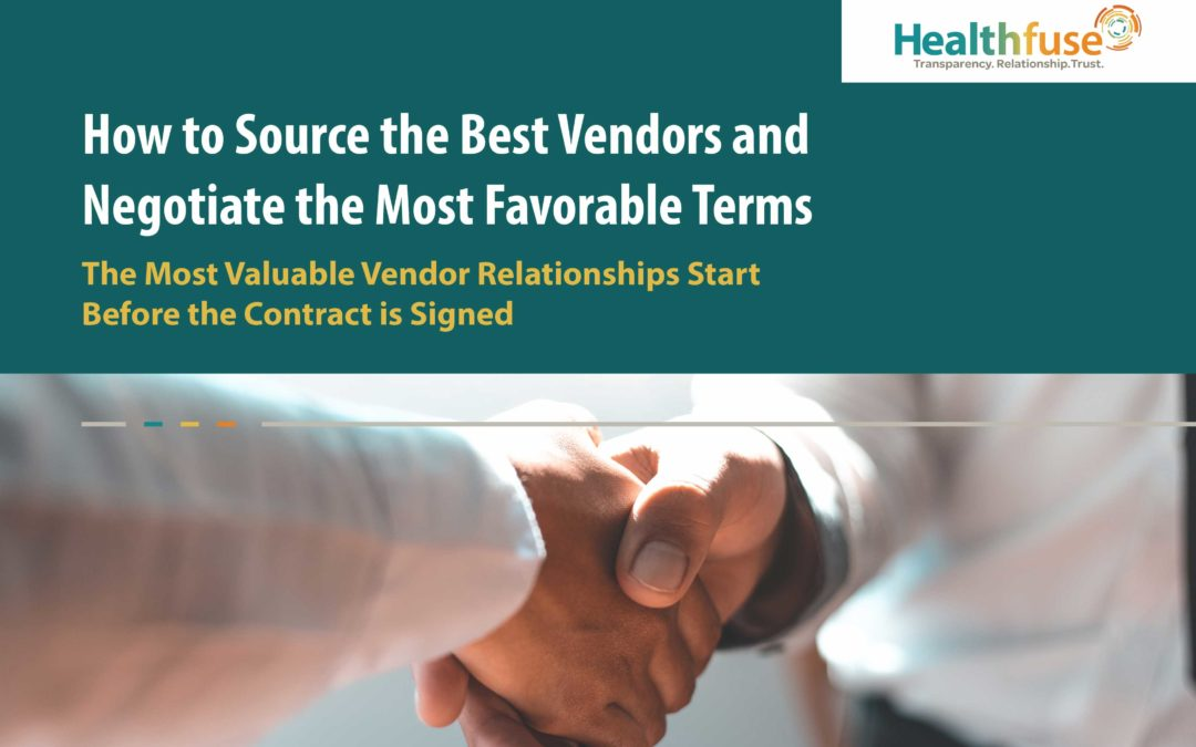 How to Source the Best Vendors and Negotiate the Most Favorable Terms