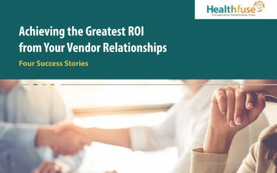 Achieving the Greatest ROI From Your Vendor Relationships