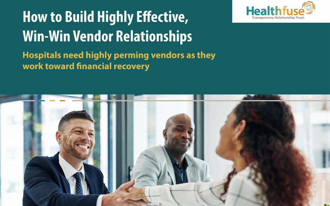 How to Build Highly Effective, Win-Win Vendor Relationships
